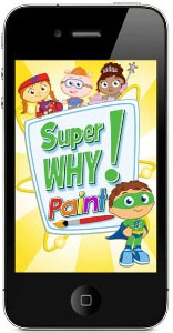 Super Why Paint! application